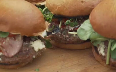 Mike's Everyday Venison Burger
